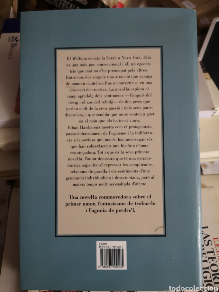 Libros: HAWKE, Ethan: Estat d'excitació. Trad. Melcion Mateu. Destino, 1a ed. Barcelona, 2001. - Foto 2 - 179081278
