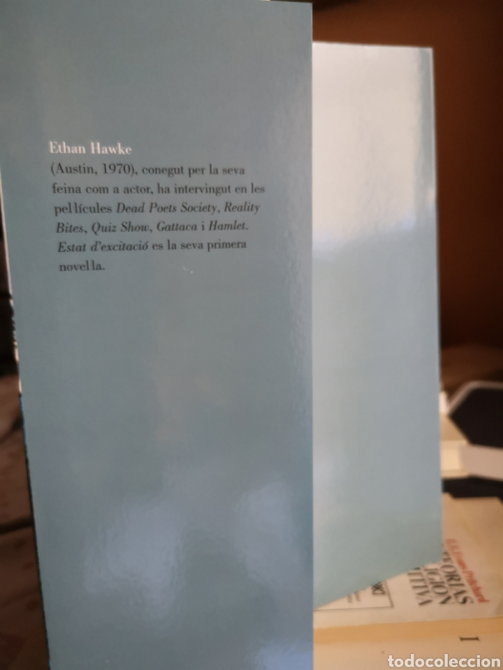 Libros: HAWKE, Ethan: Estat d'excitació. Trad. Melcion Mateu. Destino, 1a ed. Barcelona, 2001. - Foto 3 - 179081278