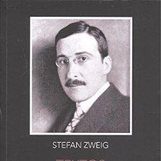 Libros: TEXTOS ESCOGIDOS (STEFAN ZWEIG) CALAMBUR 2017. Lote 181945605