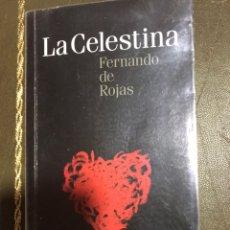 Libros: LA CELESTINA. FERNANDO DE ROJAS. Lote 182113473