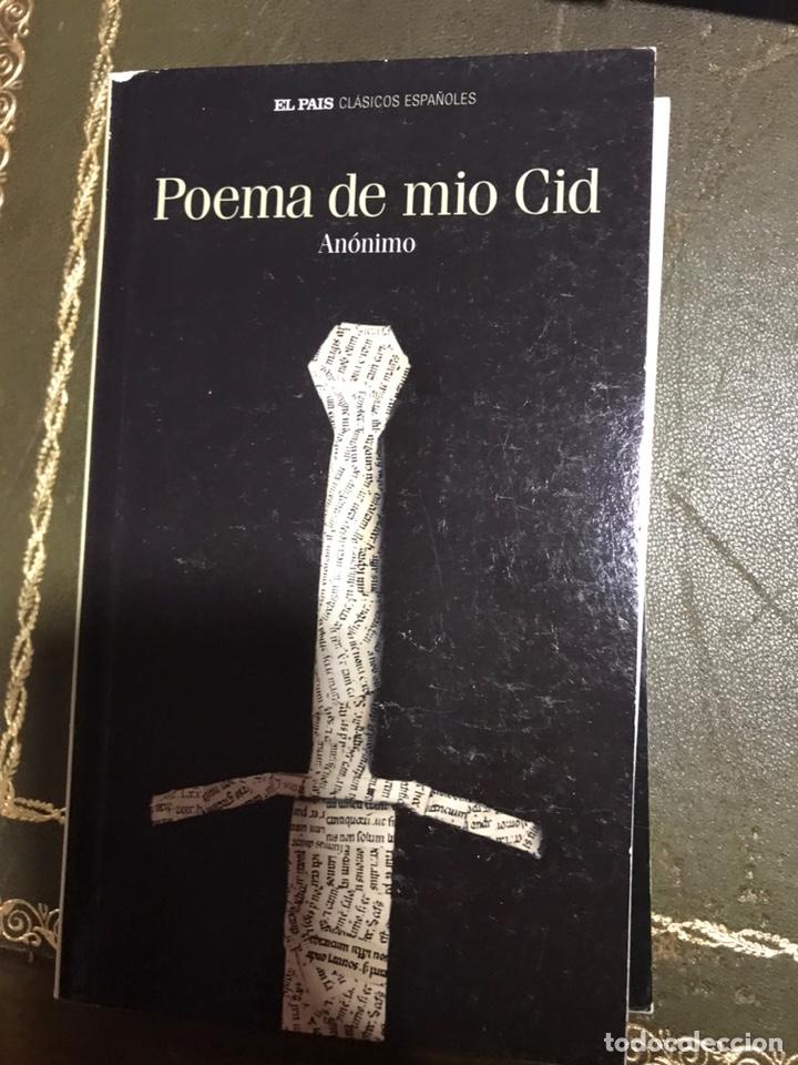 POEMA DEL MÍO CID (Libros Nuevos - Literatura - Narrativa - Clásicos Universales)