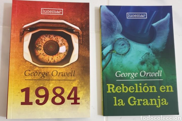 Libros: Rebelión en la granja y 1984 G.orwell - Foto 2 - 182855458