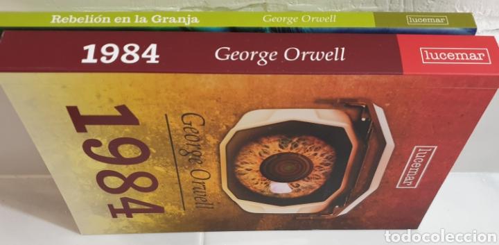 Libros: Rebelión en la granja y 1984 G.orwell - Foto 3 - 182855458