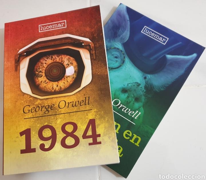 REBELIÓN EN LA GRANJA Y 1984 G.ORWELL (Libros Nuevos - Literatura - Narrativa - Clásicos Universales)