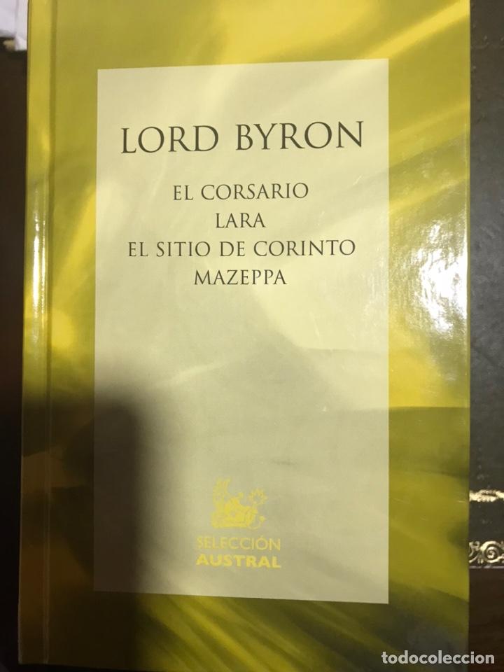 LORD BYRON EL CORSARIO LARA (Libros Nuevos - Literatura - Narrativa - Clásicos Universales)