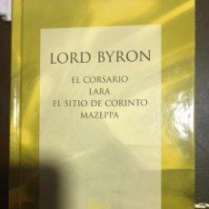 Libros: LORD BYRON EL CORSARIO LARA. Lote 183425692
