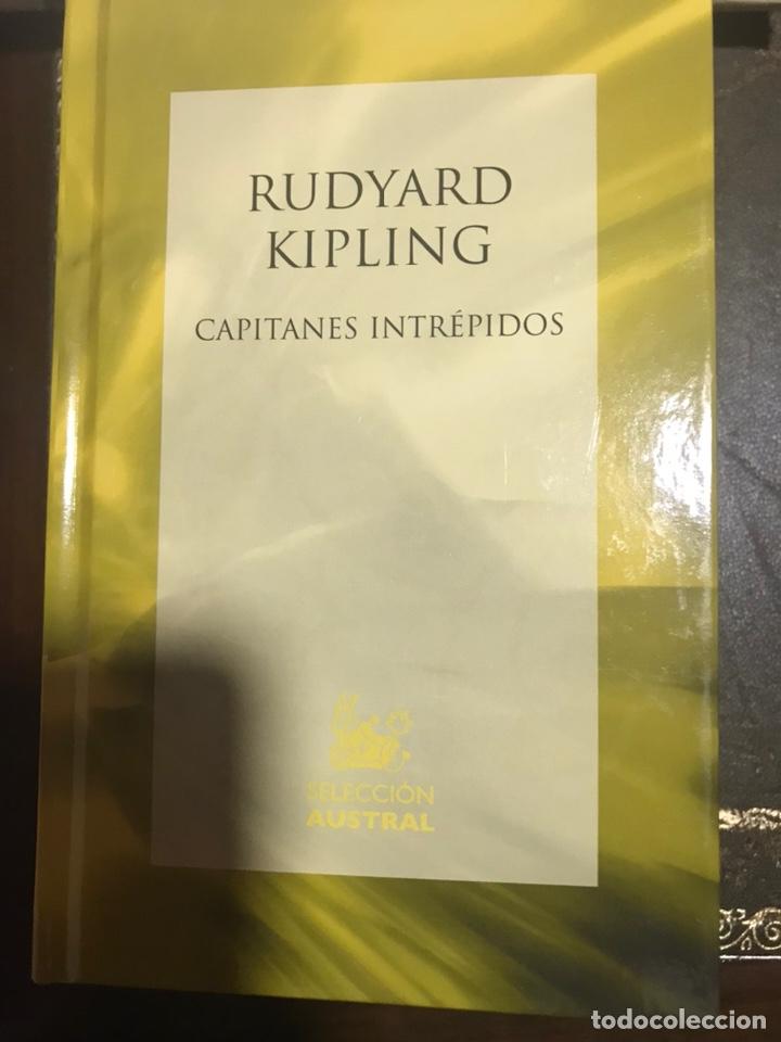 RUDYARD KIPLING CAPITANES INTRÉPIDOS (Libros Nuevos - Literatura - Narrativa - Clásicos Universales)