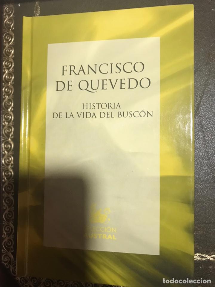 FRANCISCO QUEVEDO VIDA DEL BUSCON (Libros Nuevos - Literatura - Narrativa - Clásicos Universales)