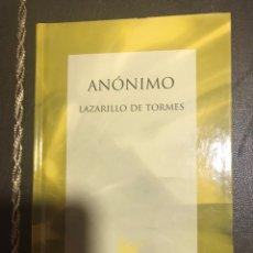 Libros: LAZARILLO DE TORMES. Lote 183427613