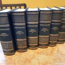 Libros: OBRAS COMPLETAS DE DOSTOYEVSKI EN 6TOMOS AGUILAR2003. Lote 190602172