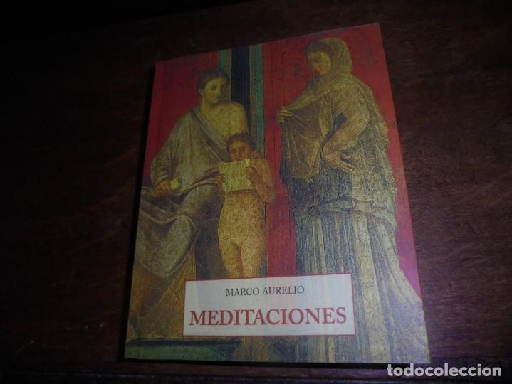 MARCO AURELIO. MEDITACIONES. JOSE J. DE OLAÑETA, 2004. COL . LOS PEQUEÑOS LIBROS DE SABIDURIA (Libros Nuevos - Literatura - Narrativa - Clásicos Universales)