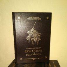 Libros: DON QUIJOTE DE LA MANCHA, MIGUEL DE CERVANTES - 2 TOMOS, ILUSTRADO POR DANIEL URRABIETA VIERGE. Lote 192064463