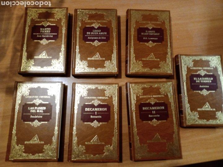 COLECCIÓN DE LIBROS LITERATURA UNIVERSAL (Libros Nuevos - Literatura - Narrativa - Clásicos Universales)