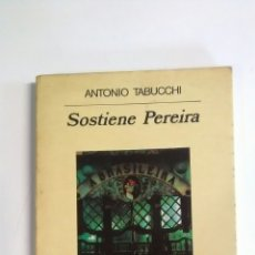 Libros: SOSTIENE PEREIRA. TABUCCHI, ANTONIO. Lote 194189847