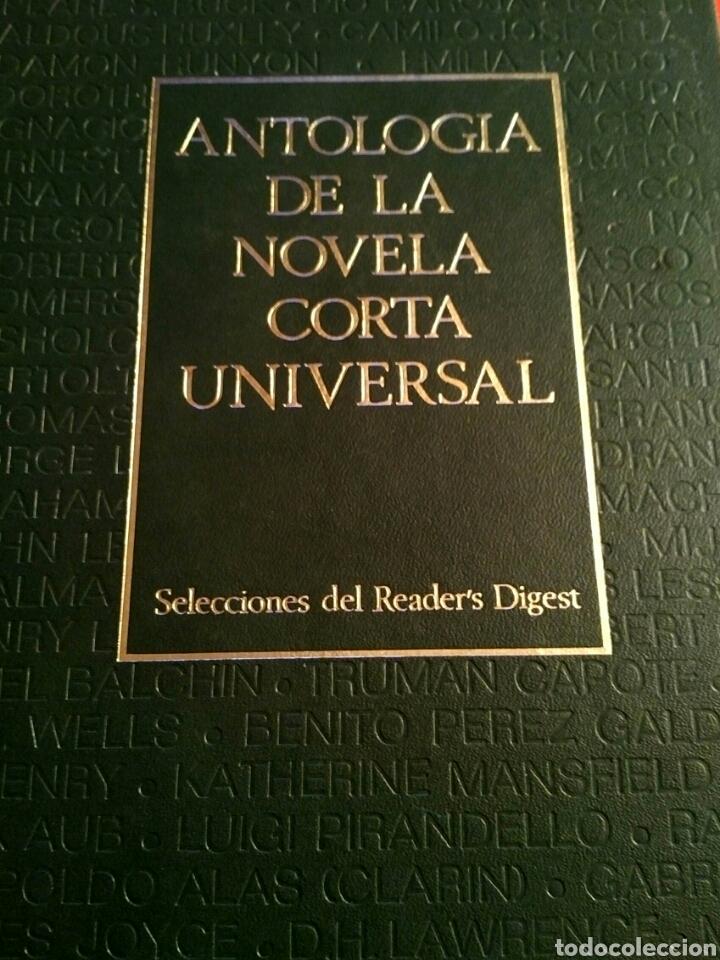 Libros: Antología novela corta universal 1 - Selecciones Readers Digest 1973 - Mann Twain Borges Joyce etc - Foto 2 - 194701520