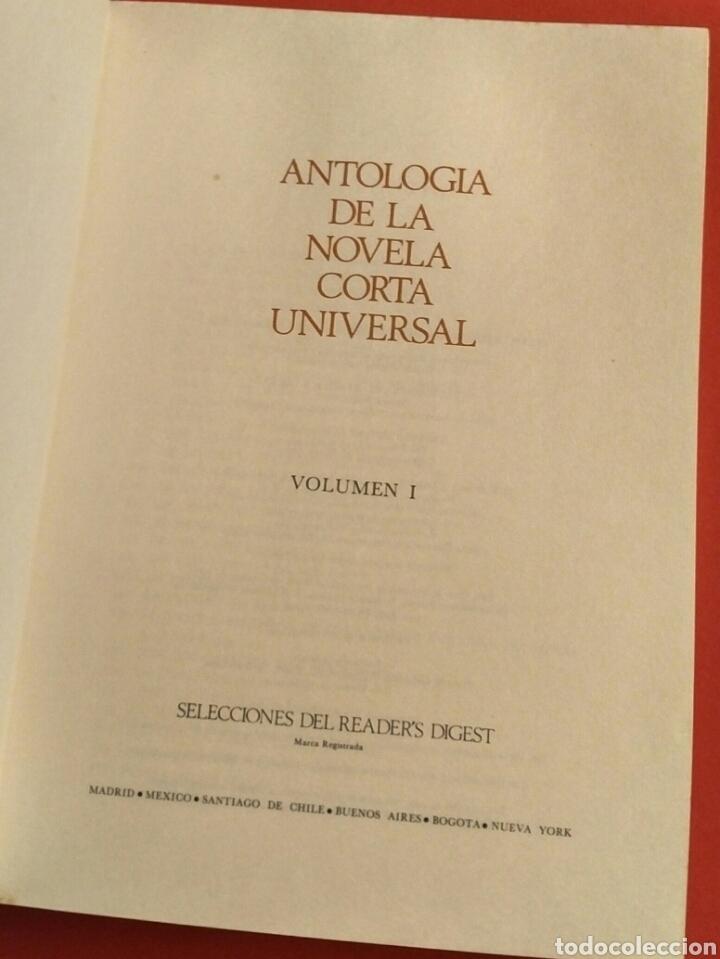 Libros: Antología novela corta universal 1 - Selecciones Readers Digest 1973 - Mann Twain Borges Joyce etc - Foto 3 - 194701520
