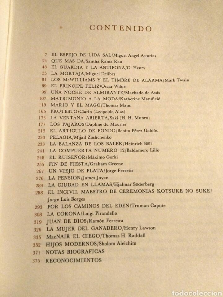 Libros: Antología novela corta universal 1 - Selecciones Readers Digest 1973 - Mann Twain Borges Joyce etc - Foto 5 - 194701520