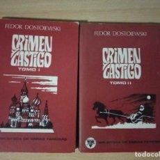 Libros: CRIMEN Y CASTIGO LIBRO. Lote 194863930