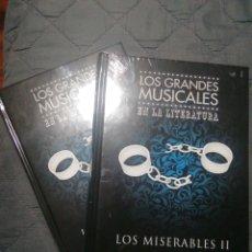 Libros: NUEVOS EN EL PLÁSTICO! LOS MISERABLES I Y II. VICTOR HUGO. TAPA DURA. Lote 198671730