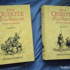 Libros: DON QUIJOTE DE LA MANCHA REGALO AL PREMIO CERVANTES - COLECCIONISTAS, EDICIÓN LIMITADA - PIEL -NUEVO. Lote 257437140