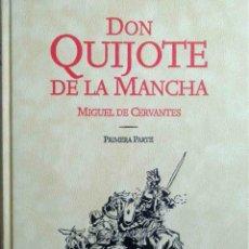 Libros: DON QUIJOTE DE LA MANCHA QUE REGALAN A LOS PREMIOS CERVANTES - PARA COLECCIONISTAS, EDICIÓN LIMITADA. Lote 199003057