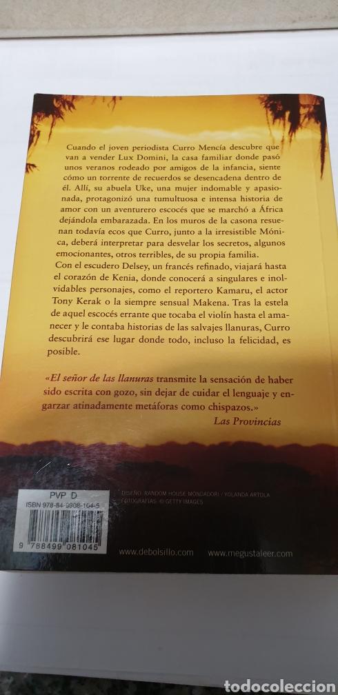 Libros: El señor de las llanuras. Javier Yanes - Foto 2 - 199926696