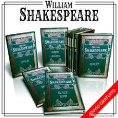 Libros: BIBLIOTECA SHAKESPEARE. 10 LIBROS - WILLIAM SHAKESPEARE (CARTONÉ) DESCATALOGADO!!! OFERTA!!!. Lote 201971650
