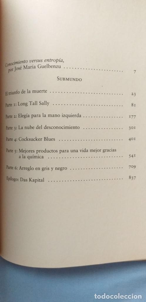 Libros: SUBMUNDO. DON DELILLO. PERFECTO ESTADO - Foto 3 - 203252775