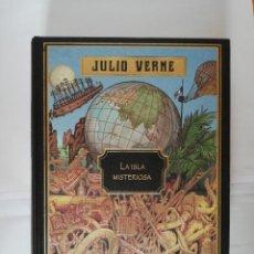 Libros: LA ISLA MISTERIOSA, JULIO VERNE, COLECCIÓN HETZEL, RBA. Lote 203631442