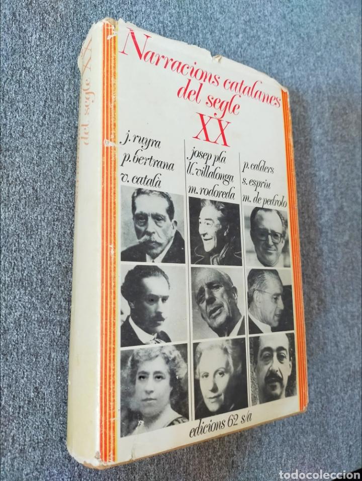Libros: Narracions catalanes del segle XX edicions 62 - Foto 2 - 204189721
