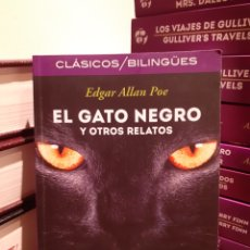 Libros: EL GATO NEGRO Y OTROS RELATOS-EDGAR ALLAN POE. Lote 205137540