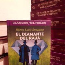 Libros: EL DIAMANTE DEL RAJÁ-ROBERT LOUIS STEVENSON. Lote 205138522