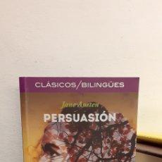 Libros: PERSUASIÓN-JEAN AUSTEN. Lote 205684596