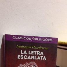 Libros: LA LETRA ESCARLATA-NATHANIEL HAWTHORNE. Lote 205687320