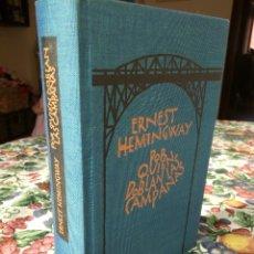 Libros: ERNEST HEMINGWAY - POR QUIEN DOBLAN LAS CAMPANAS. Lote 206815308
