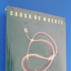 Libros: LIBRO / PATRICIA D. CORNWELL - CAUSA DE MUERTE, NUEVO Y PRECINTADO. Lote 209186011