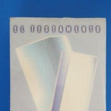 Libros: LIBRO / JOHN GRISHAM - EL TESTAMENTO, NUEVO Y PRECINTADO. Lote 209187060