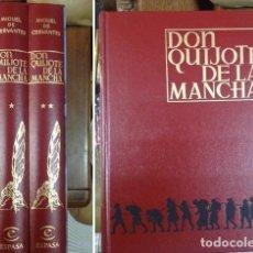 Libros: DON QUIJOTE DE LA MANCHA. ILUSTRADO JOSE SEGRELLES.1997 ESPASA. Nº 1037/3000. 2 TOMOS EN ESTUCHE.. Lote 210366875