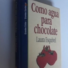Libros: COMO AGUA PARA CHOCOLATE LAURA ESQUIVEL SALVAT 1994 Nº 1. Lote 212892497