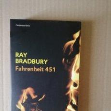 Livres: FAHRENHEIT 451. Lote 214685495