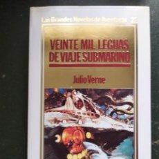 Libros: VEINTE MIL LEGUAS DE VIAJE SUBMARINO.- GRANDES NOVELAS DE AVENTURAS. Lote 218152092