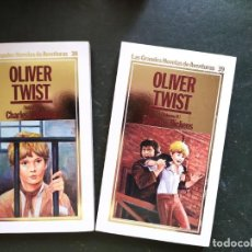 Libros: OLIVER TWIST .- GRANDES NOVELAS DE AVENTURAS. Lote 218152837