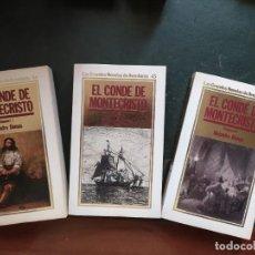 Libros: EL CONDE DE MONTECRISTO .- GRANDES NOVELAS DE AVENTURAS. Lote 218153322