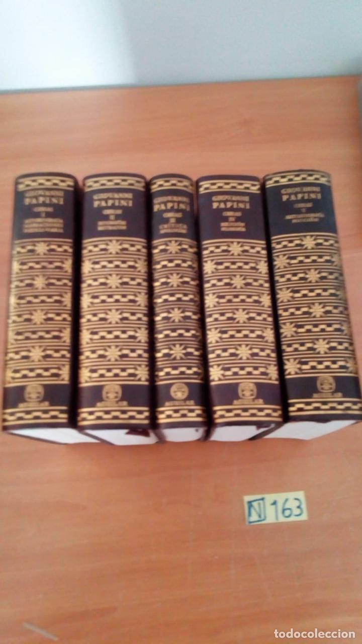 Libros: OBRAS COMPLETAS (5 VOLÚMENES) - GIOVANNI PAPINI EDITORIAL AGUILAR - Foto 4 - 218156137
