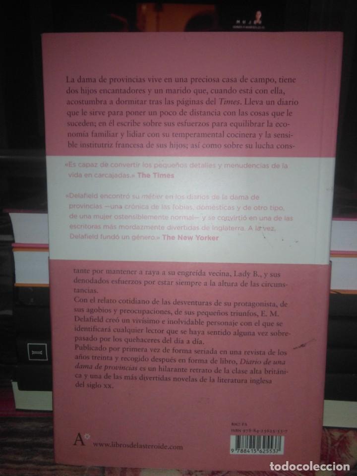 Libros: E.M.Delafield.Diario de una dama de provincias.LIBROS DEL ASTEROIDE - Foto 2 - 218251877