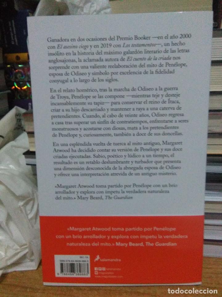 Libros: Margaret Atwood.Penélope y las doce criadas.SALAMANDRA - Foto 2 - 218308890