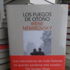 Libros: IRENE NEMIROVSKY.LOS FUEGOS DE OTOÑO.SALAMANDRA. Lote 218310061