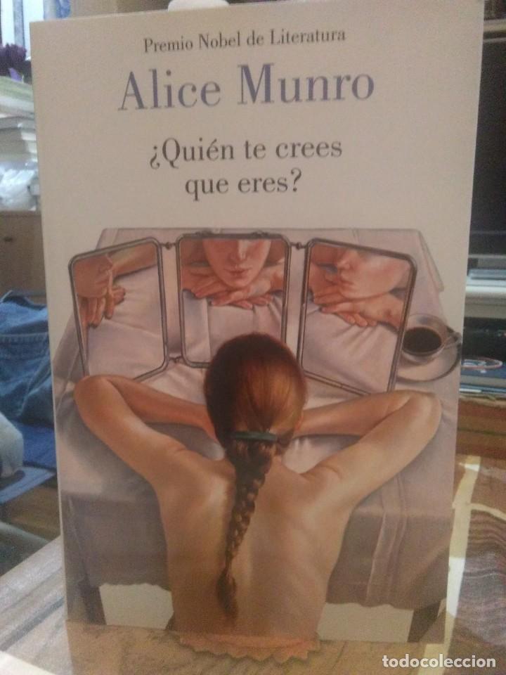 ALICE MUNRO.¿QUIÉN TE CREES QUE ERES?.LUMEN (Libros Nuevos - Literatura - Narrativa - Clásicos Universales)