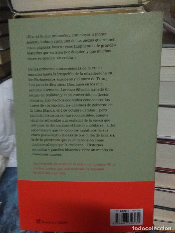 Libros: Lorenzo Silva.Dónde uno cae.DESTINO - Foto 2 - 218320481