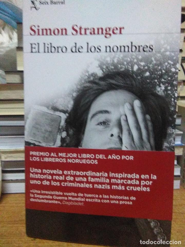 SIMON STRANGER.EL LIBRO DELOS NOMBRES.SEIX&BARRAL (Libros Nuevos - Literatura - Narrativa - Clásicos Universales)